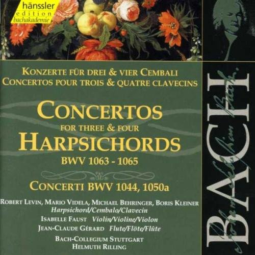 Bach: Concertos for Three and Four Harpsichords, BWV 1063-1065, Concerti BWV 1044, 1050a