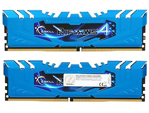 G.SKILL Ripjaws 4 series 64GB (8 x 8GB) 288-Pin DDR4 SDRAM 2133 (PC4-17000) Memory Kit Model F4-2133C15Q2-64GRB