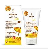 Weleda Edelweiss - Crème solaire SPF 50+ pour enfants et peaux sensibles, sans parfum (50ml)