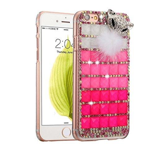 Phone case & Hülle Für IPhone 6 / 6s, Diamond verkrustete Juwel Fox Pattern PC Schutzhülle Back Cover ( SKU : IP6G1006G ) IP6G1006J