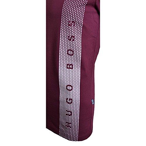 BOSS Hugo Boss Herren T-Shirt Rn Rot (602 Dark Red)