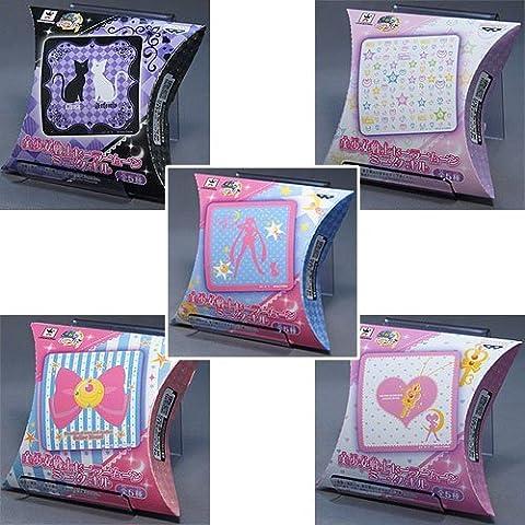 Pretty Soldier Sailor Moon Mini towel all five set Banpresto Prize