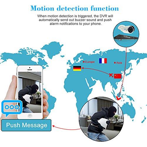 OWSOO-8CH-DVR-Full-1080N720P-1500TVL-AHD-P2P-Grabador-de-Video-Digital-1TB-HDD-Disco-Duro-4x-720P-Cmara-Exterior-CCTV-4x-60ft-Cable-de-Vigilancia