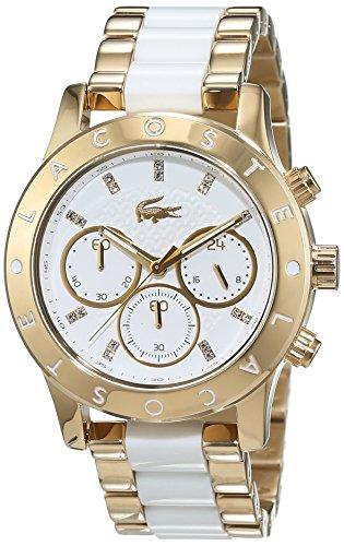 Lacoste Damen-Armbanduhr CHARLOTTE Analog Quarz verschiedene Materialien 2000910