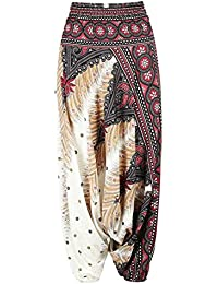 Amazon.es  Pantalones Bombachos Mujer - 4108432031  Ropa e162ec08bf6b