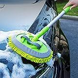 RUIX Autowaschbürste Langer Griff Versenkbar Multifunktions-Wasch-Tool