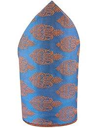 Cladien (Since 1958), Sapphire Blue Colored, Men's Pocket Square
