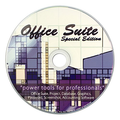 Office Suite Special Edition CD - kompatibel mit allen Microsoft Office - ersetzt Microsoft Excel und Word - Xp-cd Windows Dell