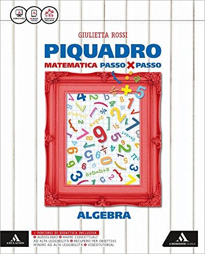 Piquadro. Algebra-Geometria. Per la Scuola media. Con e-book. Con espansione online: 3