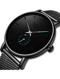 Relojes, Reloj de Pulsera para Hombre, Minimalista, Moderno Lujoso para Hombres Negocios Vestido