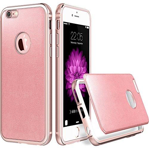 iphone-6-6s-hulle-47-zoll-esrr-hybrid-schutzhulle-mit-hd-schutzfolie-metallrahmen-mit-silikon-bumper