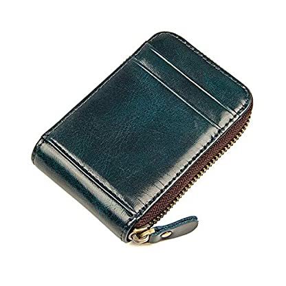 51yOf sWA%2BL. SS416  - TIDING Paquete de tarjetas de cuero Organ Organ Style Card Package Coin Purse Key Bag RFID Card Package