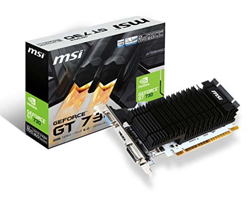MSI GeForce GT 730 2GB DDR3 PCI-E x16 DVI HDMI passiv - 2 Vga-video-karte
