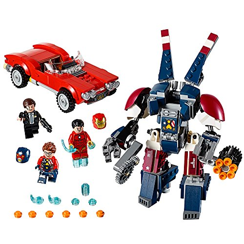 LEGO Marvel Super Heroes Iron Man: Detroit Steel Strikes 76077 Superhero Toy (Cars Mini Lego)