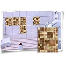 Suchergebnis Auf Amazon De Fur Fliesenaufkleber Mosaik 15x20
