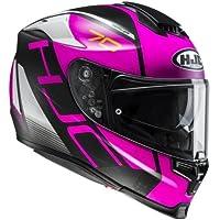 HJC Motorradhelm RPHA 70 Vias MC8SF, Schwarz/Pink, Größe L