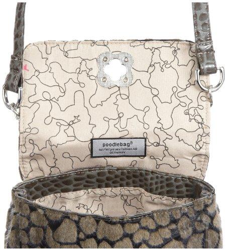 Poodlebags Funkyline - noble&smart - belt bag 3FL0812BEBAP, Damen Clutches Braun (pearl)