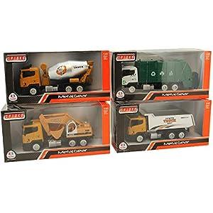 """Globo Toys 37816 - Escala 1:43 """"Spidko para camión de fricción"""