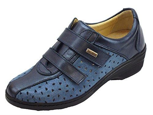 Susimoda Damen Sneaker, Blau - Blau - Größe: 36 EU