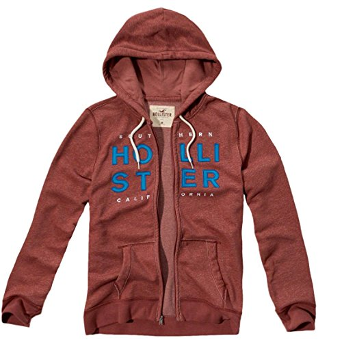 hollister-herren-textured-logo-graphic-hoodie-kapuzenpullover-strickjacke-grosse-l-weinrot-624043130