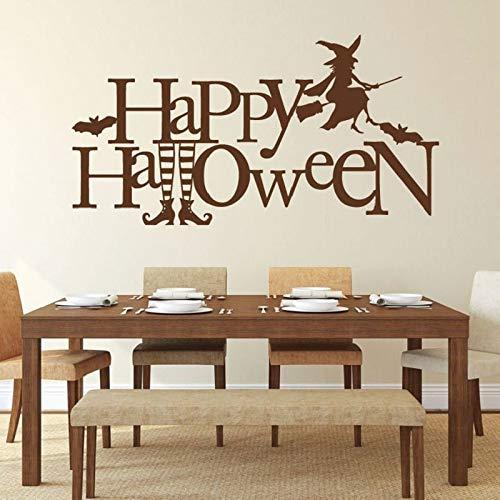 kleber Halloween dekorative Vinyl Aufkleber Decals für Zuhause Schlafzimmer Wohnzimmer oder Haustür Dekoration 82x42cm ()