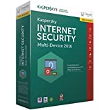 Kaspersky internet security 2016 (3 postes, 1 an) - mise à jour