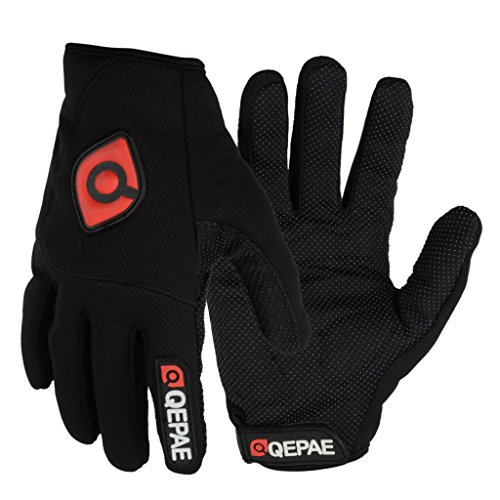 generic winter outdoor sports cycling bike bicycle full finger gloves black m-13012046mg Generic Winter Outdoor Sports Cycling Bike Bicycle Full Finger Gloves Black M-13012046MG 51yOmGRrnCL