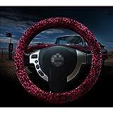 X&L Pedazo de cubierta/mujer/felpa/cambios/freno de mano/coche/tres ruedas clásico leopardo, manejo , 38cm
