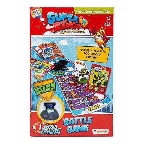 SuperZings-  Enigma Juego de Mesa- Battle Game- Castellano (CEF21650),  (Cefa Toys 1)
