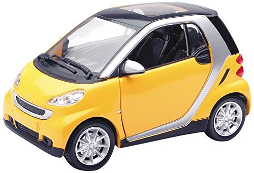 newray-71033-smart-fortwo-giallo-scala-124-die-cast-window-box