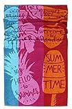 Lashuma Strandtuch Lanzarote | farbenfrohes Duschtuch | saugstarkes Sporthandtuch | hochwertige Frottee Badetuch | 75 x 150 cm