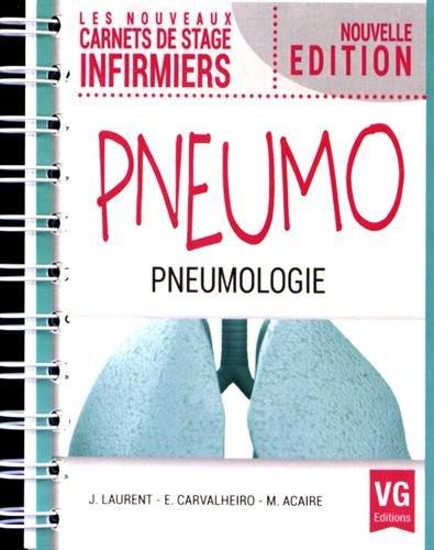 Nouveaux carnets de stage infirmiers pneumo.-