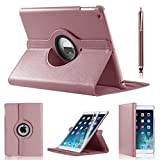 Best Ipad 4 Covers - iPro Products Rotating 360 Degree PU Leather Case Review