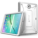 Supcase SUP-Galaxy-Tab-S2-UBPRO Galaxy Tab S2 9.7 Case for Samsung Galaxy Tab S2 9.7 Tablet [Unicorn Beetle PRO Series] Builtin Screen Protector Bumper (White/Gray)