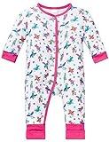 Schiesser Baby-Mädchen Zweiteiliger Schlafanzug Anzug mit Vario Fuß, Mehrfarbig (Multicolor 904), 56