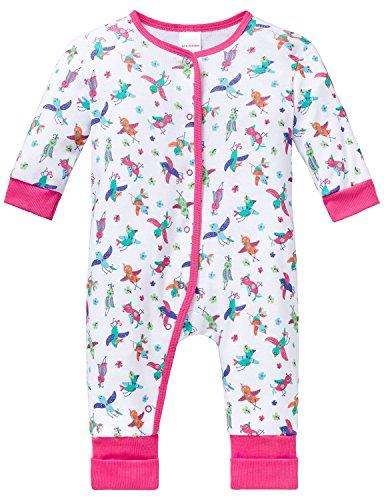 Schiesser Baby-Mädchen Zweiteiliger Schlafanzug Anzug mit Vario Fuß, Mehrfarbig (Multicolor 904), 74