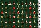 Hemmers Baumwolle Weihnachten Tannenbaum grün - Stoff -