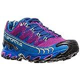 La Sportiva Ultra Raptor Woman, Zapatillas de Trail Running para Mujer, Multicolor (Purple/Marine Blue 000), 40.5 EU