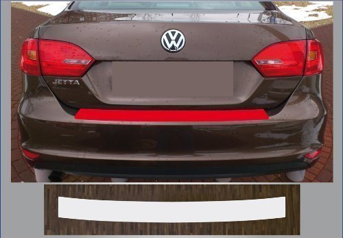 passgenau für VW Jetta 6, ab 2010; Lackschutzfolie Ladekantenschutz transparent