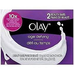 Olay Age Defying Beauty Bars Soap, 4oz(113g) 2 Soap