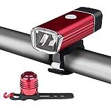 Eletorot LED Fahrradbeleuchtung Frontlichter und Rücklicht Wiederaufladbare...