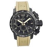 Metal. CH Chronometrie chronosport Cronógrafo para hombres Militar suizo reloj 4429.44