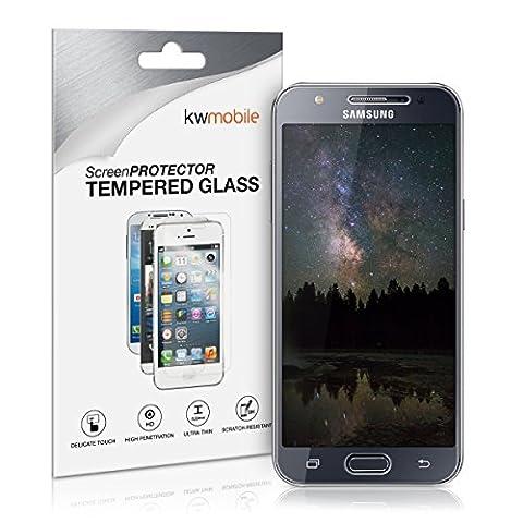 kwmobile Protection écran en Verre Trempé pour Samsung Galaxy J5 (2015) transparent. Qualité