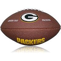 Wilson Football NFL Greenbay Packers Logo, Braun, Mini, WL0206264220