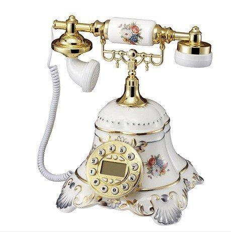 Telefono di rete fissa antico arte ceramica high-end telefono retrò moda creativa continentale coreano (High End Telefoni Cordless)