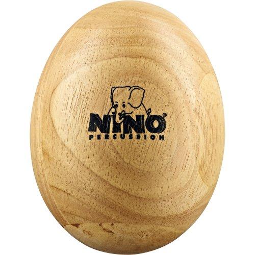 Nino Percussion NINO564 Egg Shaker aus Holz Größe L