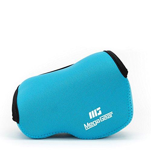 MegaGear ''Ultra Light'' Funda Bolsa Protector Neopreno Cámaras Para Panasonic LUMIX GX80, DMC-GX85K con la lente 12-32mm (Azul)