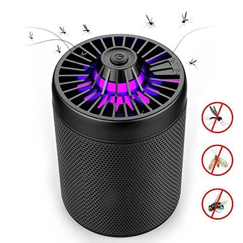 Bug Fly Mosquito eléctrico Zapper, Mata Mosquitos Eléctrico Mata Insectos con Luz Ultravioleta USB LED, Sin Productos Químicos (Elfo de metal)
