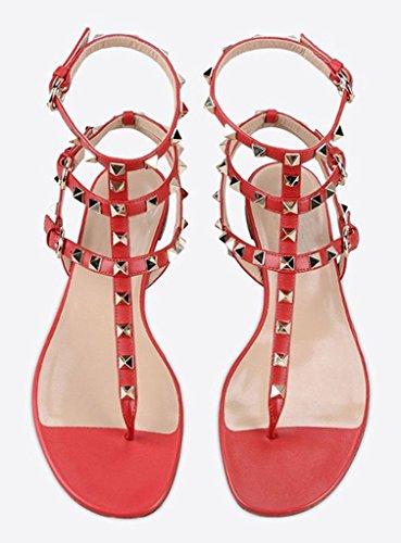 Amy Q - Strap alla caviglia donna Red