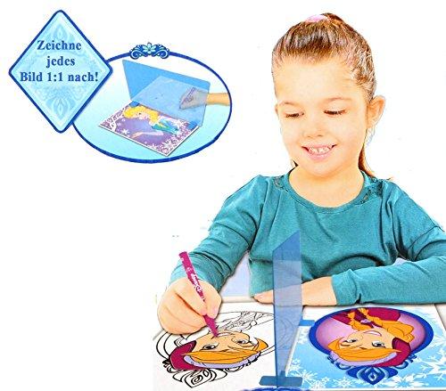 Brigamo FR15333 - Disney Frozen Eiskönigin Magisches Malset mit Zauberspiegel, Malstifte, Malblock und Malvorlagen thumbnail